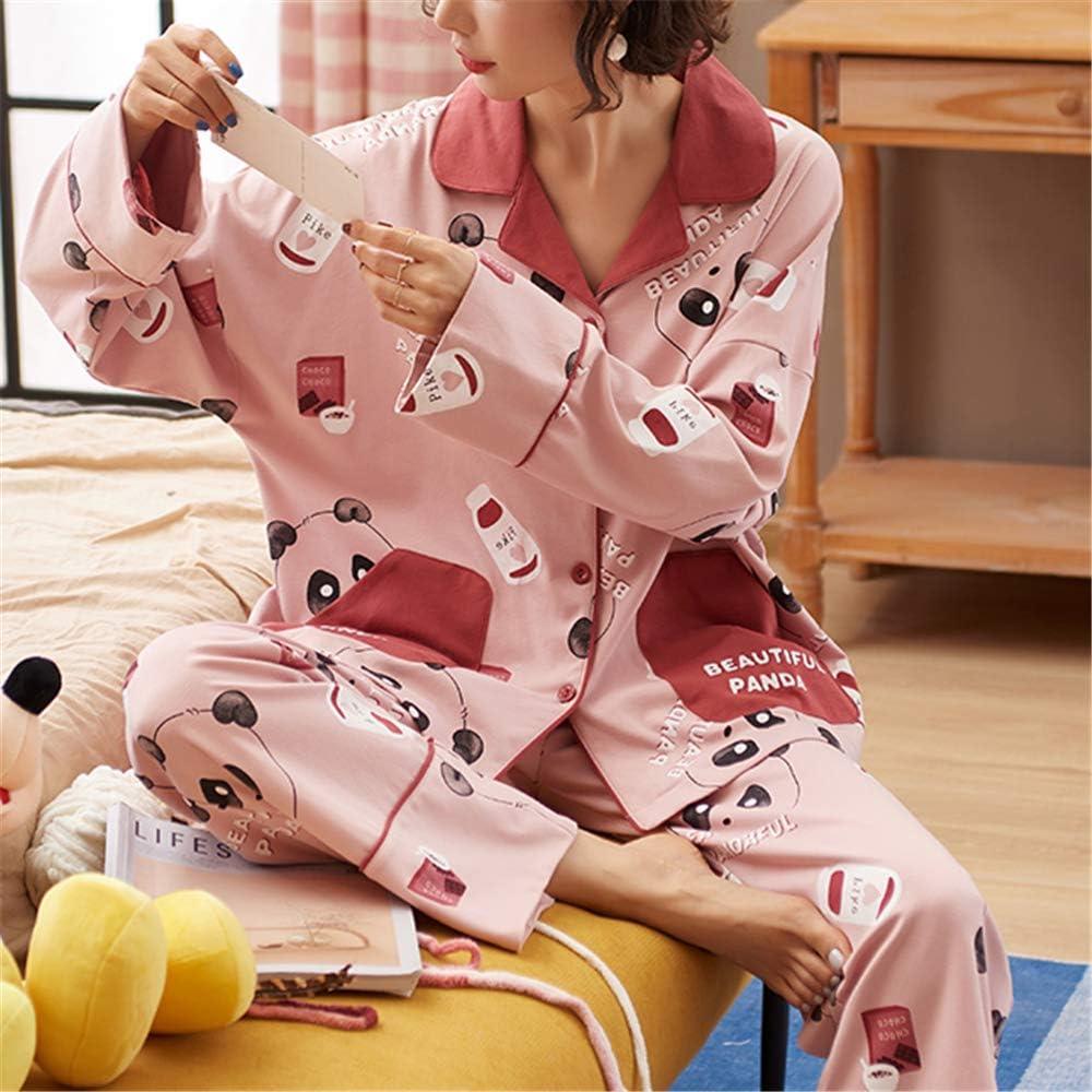 DUXIAODU Pijama de algodón para Mujer | Suave y cómodo ...