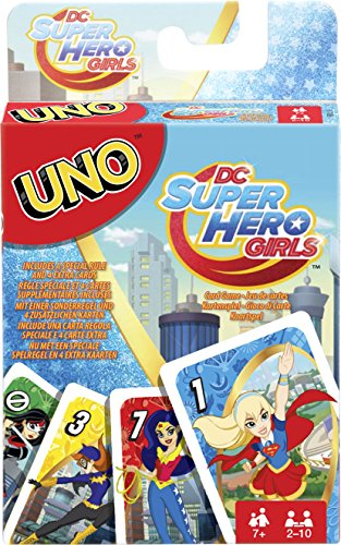 American Girl Card Games - Uno DC Super Hero Girls Card Game