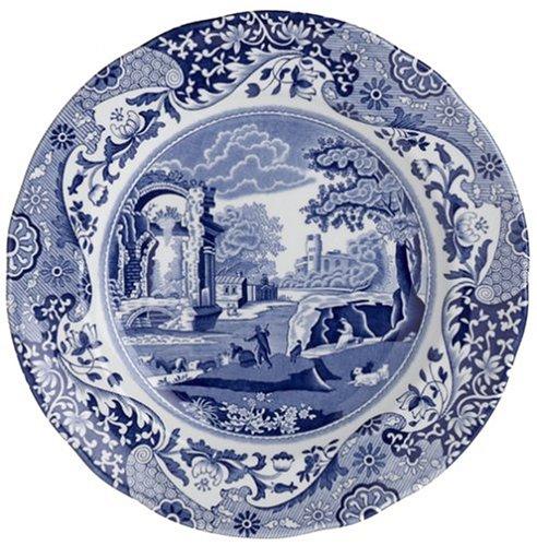 - Spode Blue Italian Earthenware 8-Inch Salad Plate