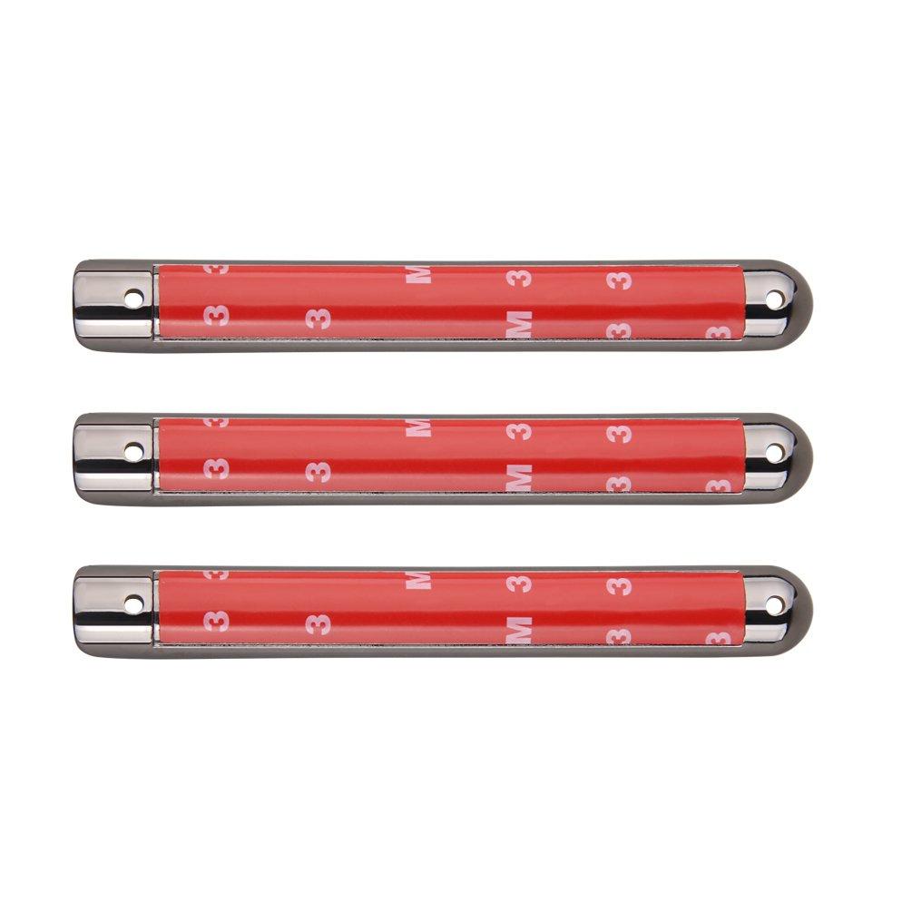 MINGLI 5PCS Red Aluminum Door Handle Insert for Jeep Wrangler JK 2 Door /& 4 Door 2007-2017 Front and Rear Door Handle Bar Moulding Cover Trim 5559027331
