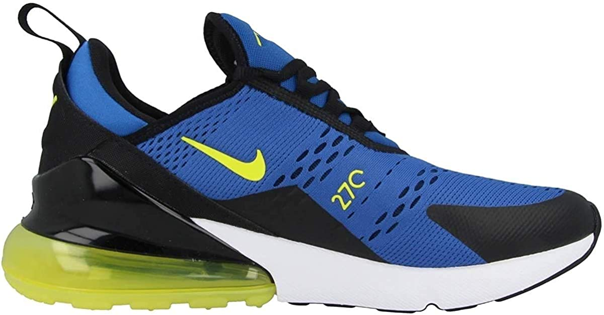 Licuar herramienta Tormento  Amazon.com : Nike Men's Air Max 270 Game Royal/Chamois/White/Black Mesh  Cross-Trainers Shoes : Clothing