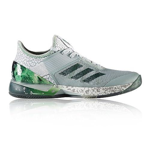 buy popular 3d38c 1de64 adidas Adizero Ubersonic 3 W Jade, Scarpe da Tennis Donna, (VertacVeruni