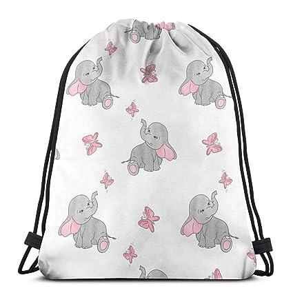 Lindos Elefantes y Mariposas Bolsas de Viaje portátiles para ...