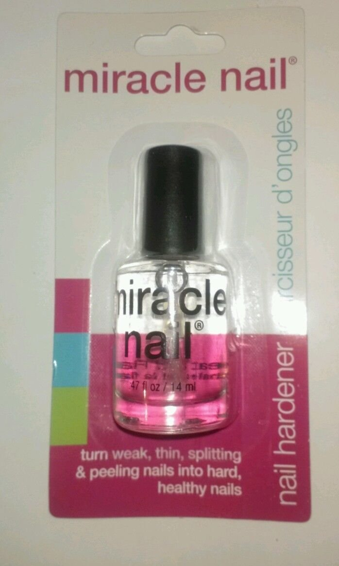 Amazon.com : Miracle Nail Hardener Clear Base Coat Polish 0.47 Oz ...