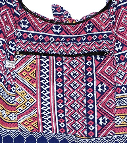 Hobo Shoulder Boho Body Hippie Cross Classics Midnightblue Colorful Bag Bohemian 46IxpUn