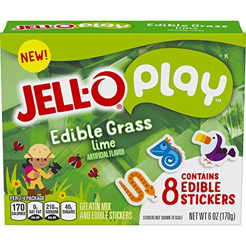 Edible Grass (JELL-O Play Edible Grass, 6 oz (Pack of 24))
