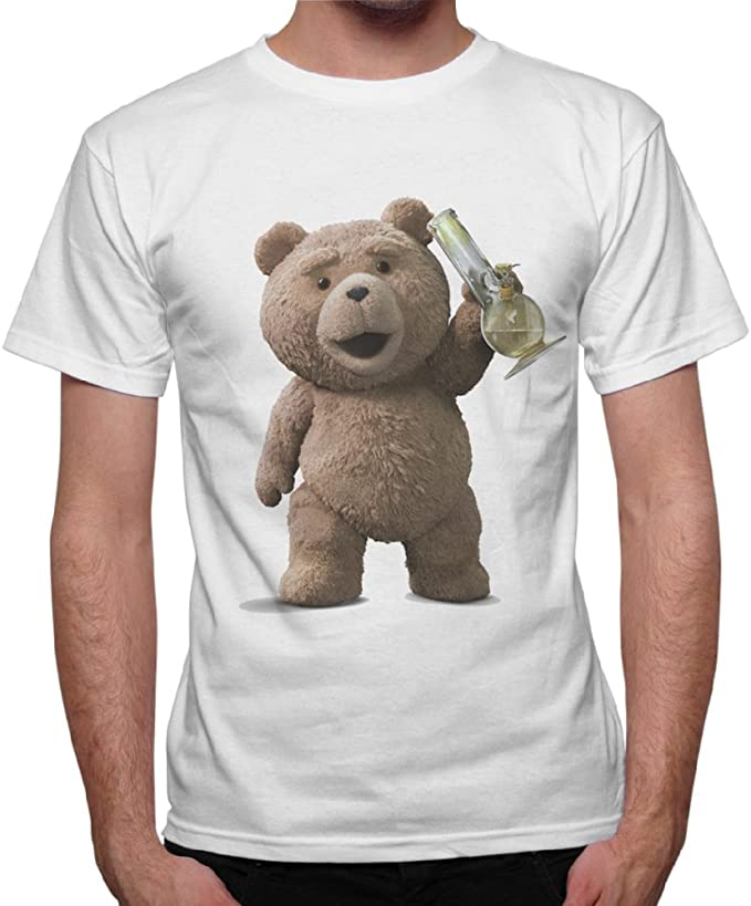 thedifferent T-Shirt Homme-Ours Ted Smoke