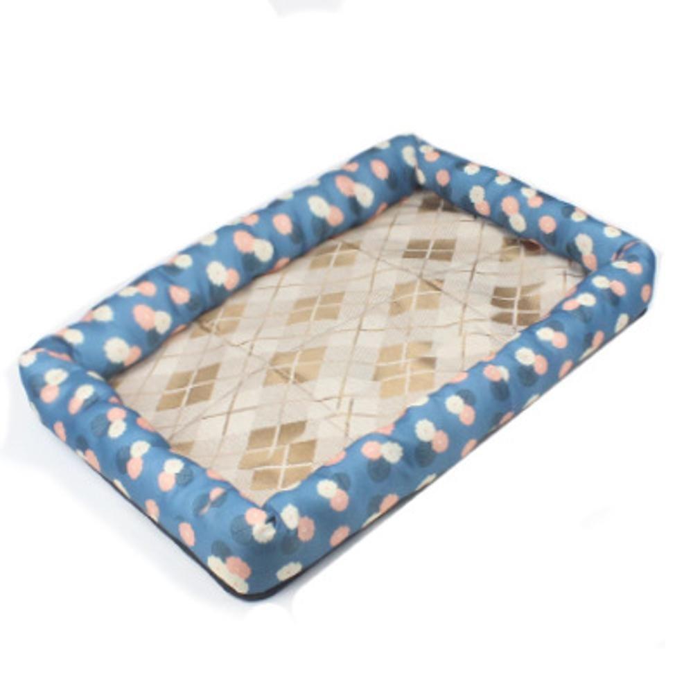 B 61517cm B 61517cm Daeou Pet mat Cloth ice Silk mat Kennel Cat Nest