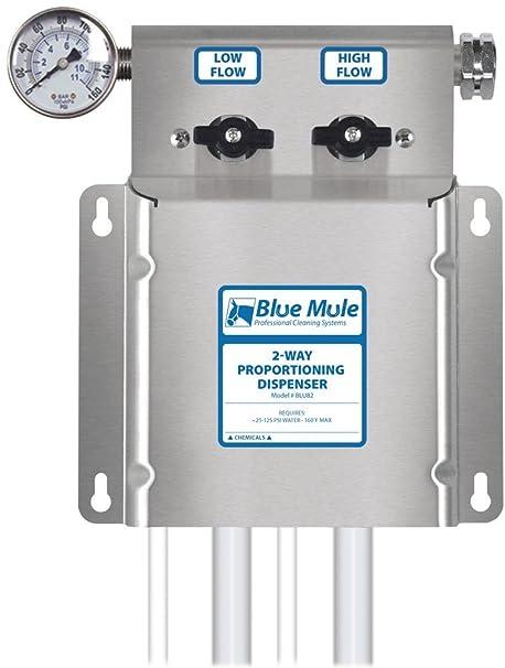 Amazon.com: Azul Mule de 2 Vías proportioning Química ...