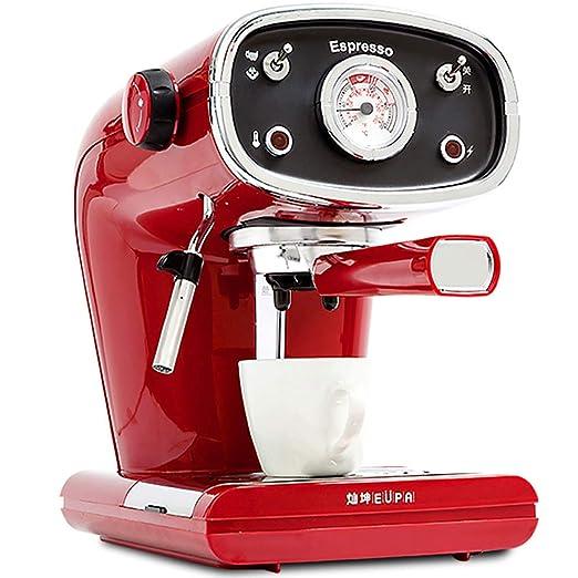 Cafetera roja Vintage Máquina de café de Cappuccino ...