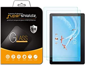 (2 Pack) Supershieldz for Lenovo Tab E10 (10.1 inch) Tempered Glass Screen Protector, Anti Scratch, Bubble Free