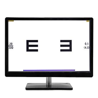 Huanyu 19 pulgadas LCD óptico digital gráfico de acuidad visual ...