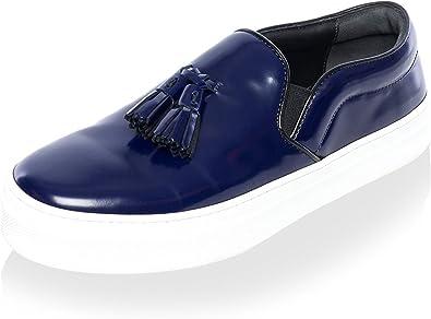 Platform Sneaker with Tassel