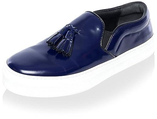 7c56eeccdc00 Céline Women s Platform Sneaker with Tassel