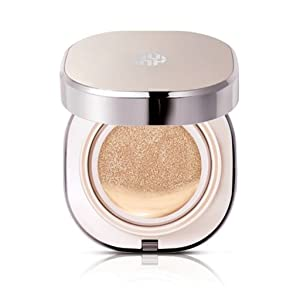 Ohui Miracle Moisture Chiffon Cushion #02 Cool Honey Beige Plus Two Refills Total 0.52 Oz/15g x 3 ( UV block, Whitening n Wrinkle Care, 2016 New )