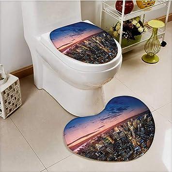 vanfan Deckel WC-Deckelbezug Spring Landschaft mit Tulip ...