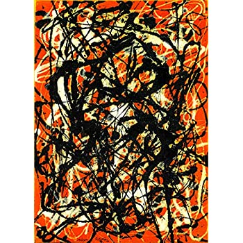 free form jackson pollock original  Amazon.com: The Museum Outlet - Jackson Pollock - Free Form ...