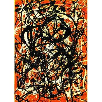 free form jackson pollock  Amazon.com: The Museum Outlet - Jackson Pollock - Free Form ...