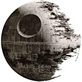 14 Inch Death Star Imperial Galatic Empire Sith Emperor Dark Side Deathstar Star Wars Classic Episode IV Removable Wall Decal Sticker Art Home Decor Kids Room-14 1/4 Inches Wide By 14 1/4 Inches Tall