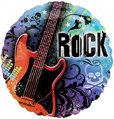 "18"" Amscan Official Disney Camp Rock Rockin' Birthday Foil Helium Balloon"