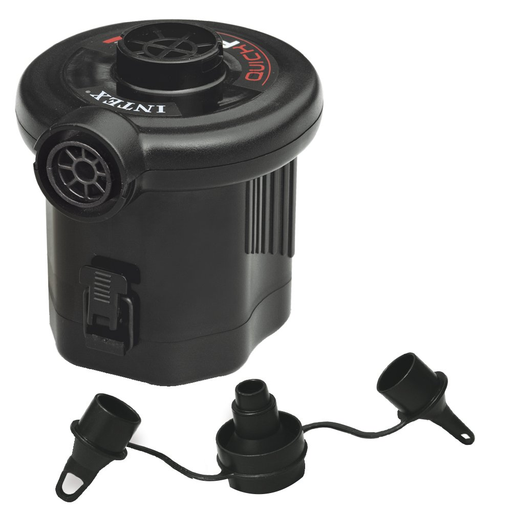 new battery operated quick fill air pump for camping air. Black Bedroom Furniture Sets. Home Design Ideas