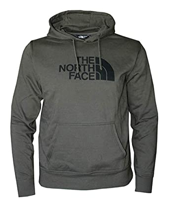 cd69c5967fa9 Image Unavailable. Image not available for. Color  The North Face Men s  Half Dome Hoodie Burnt Olive Green Heather Black ...