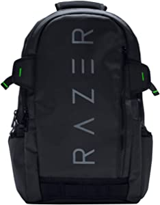 "Razer Rogue v1 15.6"" Gaming Laptop Backpack: Tear and Water Resistant Exterior - Scratch-Proof Interior - Dedicated Laptop Compartment - Made to Fit 15 inch Laptops"