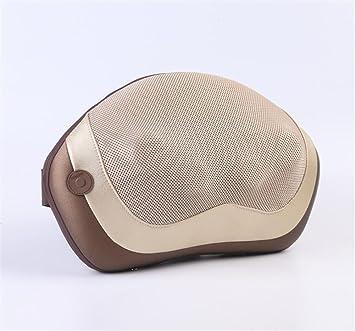 AMYMGLL Masaje almohada masaje en casa coche 4 almohadilla eléctrica masaje de la cintura