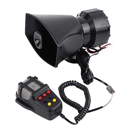 7 Sonidos 12V Alarma de Advertencia electrónica para ...