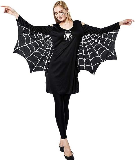 EraSpooky Disfraz de Araña para Mujer Disfraz Cosplay Fiesta de ...