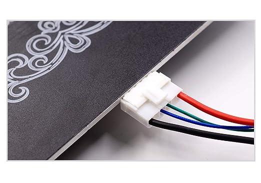 Impresora 3D Anet A8 A6 Piezas, FYSETC Cable de cama calefactable ...