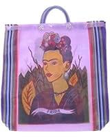 #124 Shopping Frida Kahlo Market Tote Bag Mexico Fair Trade Market Sack Assorted