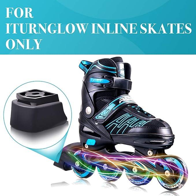 Inline Skates Brakes Block Safety Roller Stopper for Kids Inline Skates Accs