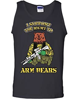 Protected by God and Guns Women/'s V-Neck T-Shirt Plead 2nd Amendment Bear Arms