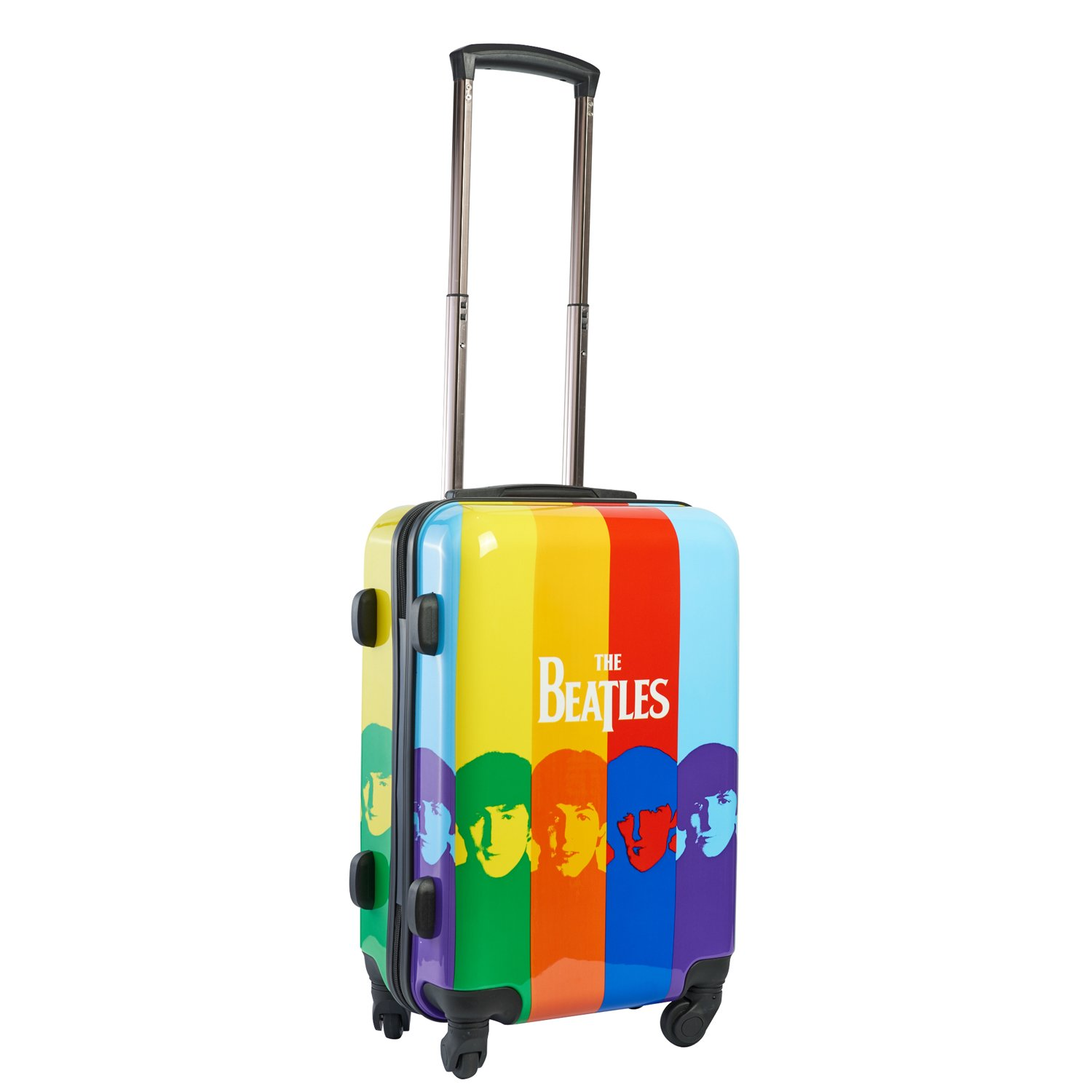 Beatles 21 Inch Spinner Rolling Luggage Suitcase Carry-On Luggage by Beatles