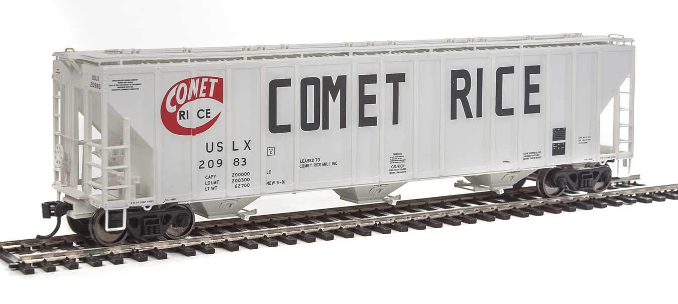Walthers Comet Covered Hopper #20983 B07KFNSBK8
