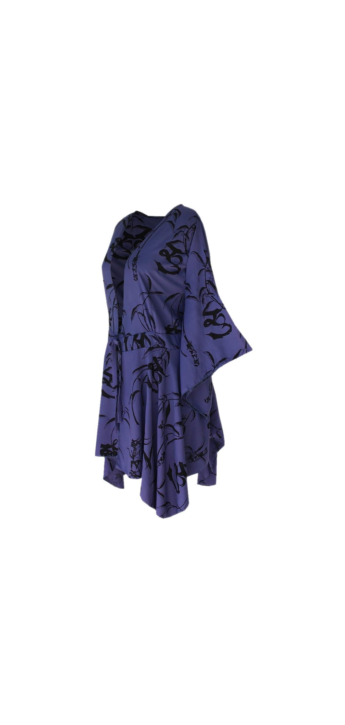 Plus Size Kimono Tunic  Women's Kimono Sleeve, Original Print,