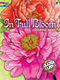 In Full Bloom: A Close-Up Coloring Book (Dover Coloring Books)