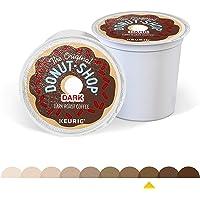 The Original Donut Shop Dark, Single-Serve Keurig K-Cup Pods, Dark Roast Coffee, 12 Count - Pack Of 6