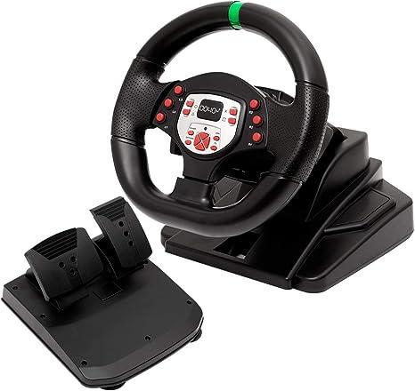 DOYO Pro Sport Steering Racing Wheel para PS3 / PS4 / XBOX One ...