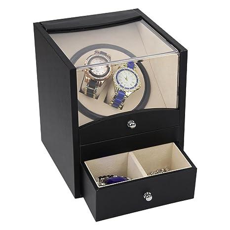 2017/ Watch Winder Winders Caja para Relojes joyero caja de reloj relojes Estuche guardar o
