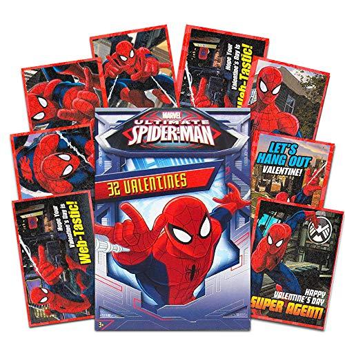 Paper Magic 32 Count Valentines (SpiderMan)