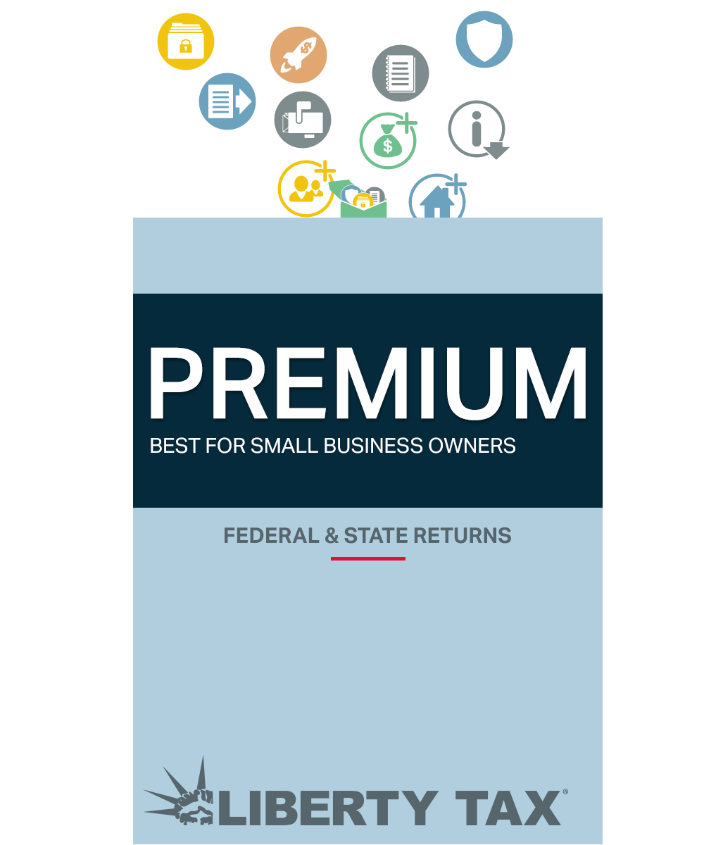 Liberty Tax Online Premium Edition [Online - Way Commons Federal