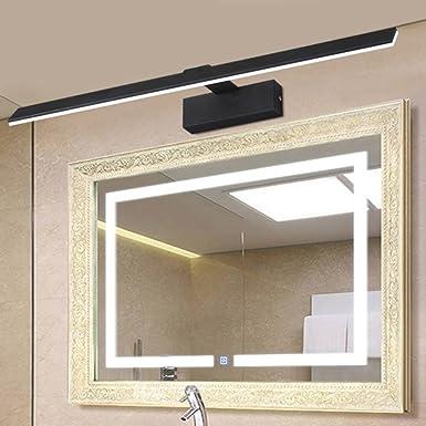 Spiegelleuchten Spiegel-vordere Lichter Farbe : Wei/ß-10w//62cm f/ührte wasserdichtes Nebel-Badezimmer-Spiegel-helles Badezimmer-Spiegel-Kabinett-Lichter modern Badbeleuchtung