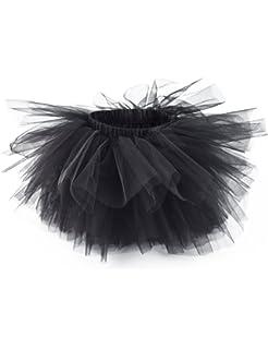 86f345a7bad4 Girl's 6-Layered Tulle Tutu Skirt Fluffy Princess Dancing Petticoat Ballet  Underskirt(2T-
