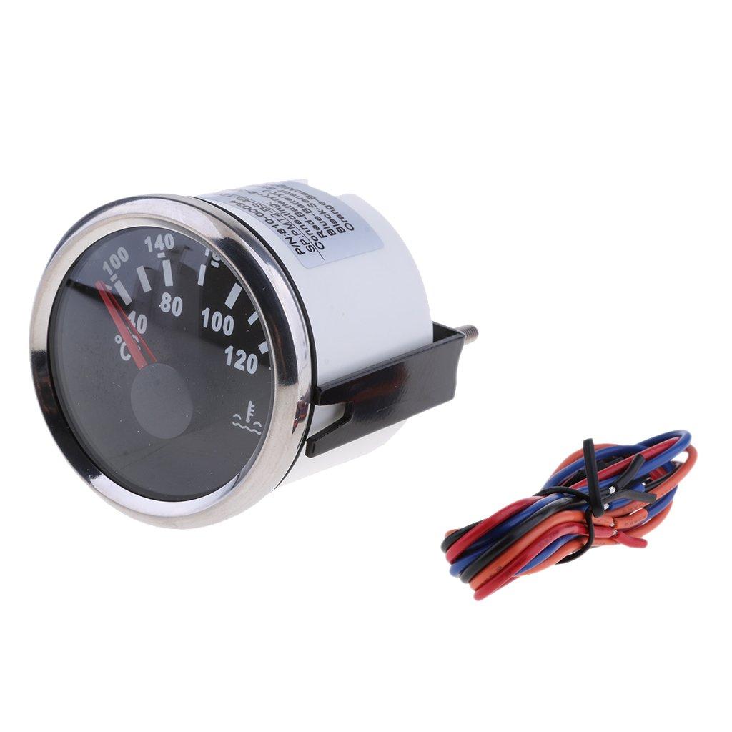 sharplace 9 –  32 V Misuratore di temperatura di acqua in acciaio inox contatore di acqua temperatura di auto auto