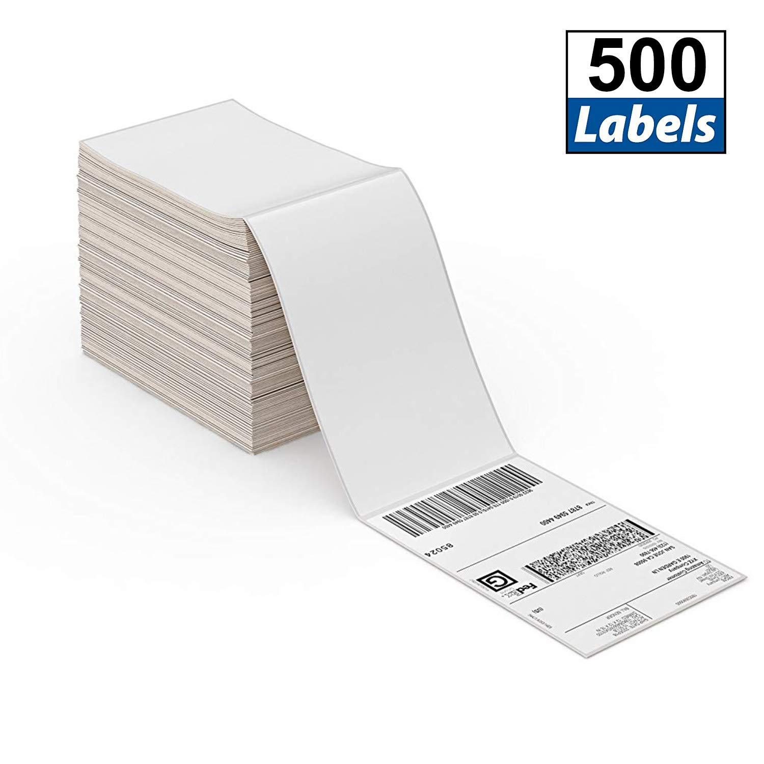 Commercial Grade MUNBYN 4x6 Direct Thermal Fanfold Shipping Labels 500 Pics for Address Mailing Postage USPS UPS FedEx  Ebay Shipping Labels