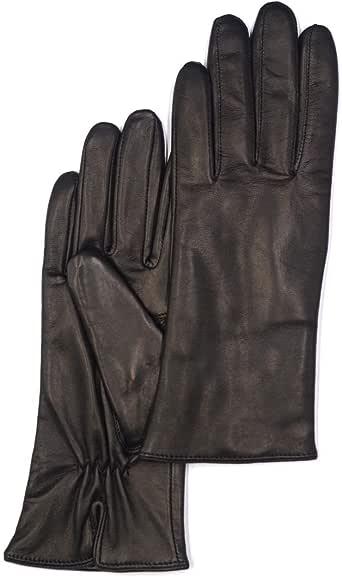 Womens Nappa Lambskin Leather Gloves(100% Wool/Cashmere/Fleece Lining)