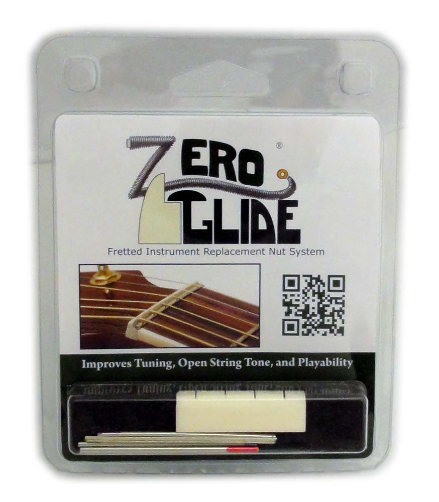 Zero Glide Slotted ZS-8 Banjo Nut System