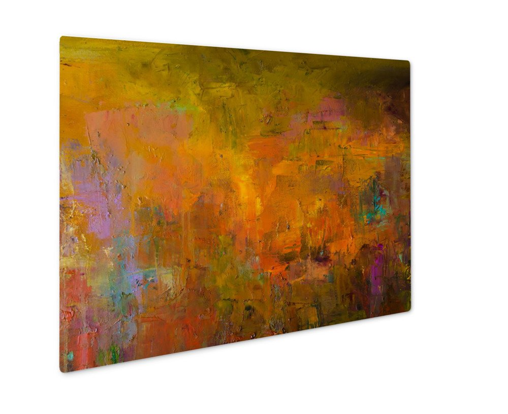 Ashley Giclee Metal Panel Print, Abstract Oil Painting Oil On Canvas Hand Drawn Oil Painting Color Fragment Of, Wall Art Decor, Floating Frame, Ready to Hang 8x10, AG5779654 by Ashley Giclee